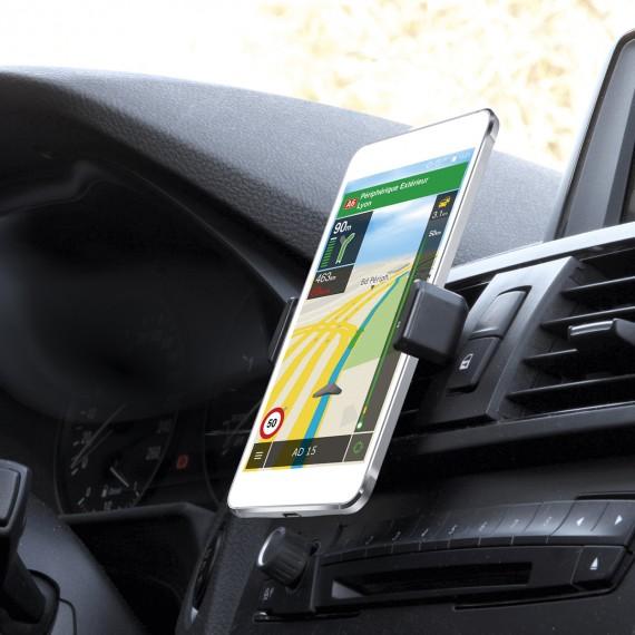 """Support universel grille d'aération voiture pour smartphone 3,5-6"""""""