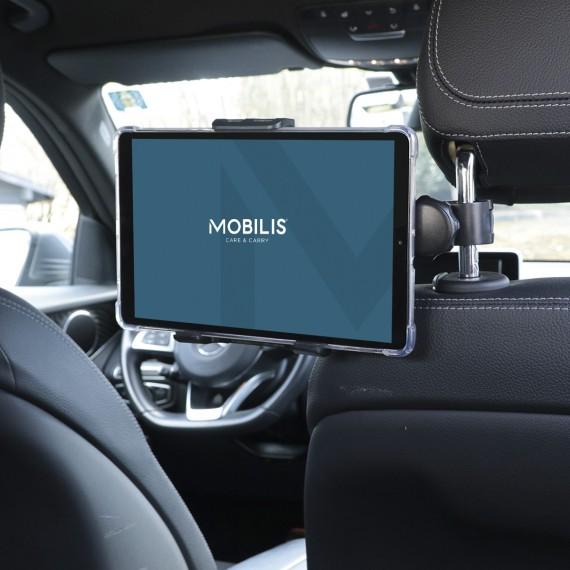 Support universel appui-tête véhicule pour smartphone/tablette