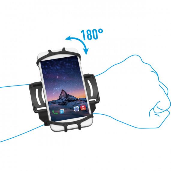 Brassard poignet universel pour smartphone et terminal de saisie 4-6''