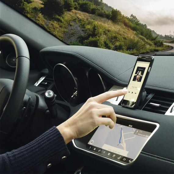 Support U.FIX magnétique grille d'aération véhicule pour smartphone