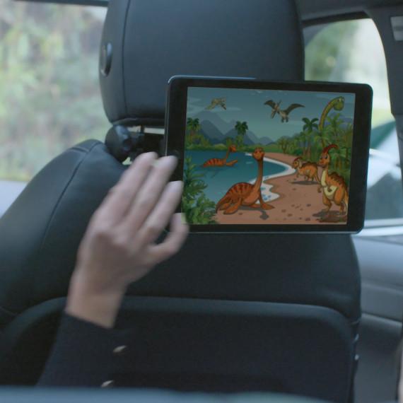Support U.FIX appui-tête véhicule pour smartphone/tablette