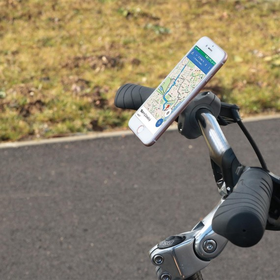 Support guidon de vélo U.FIX pour smartphone MADE in FRANCE