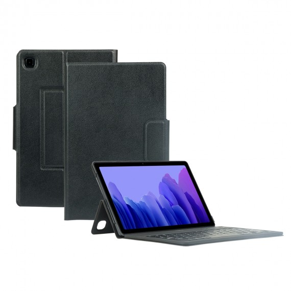 protective case with french bluetooth keyboard for galaxy tab a7