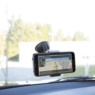 "Support universel pare-brise voiture pour smartphone 3-6.5"""