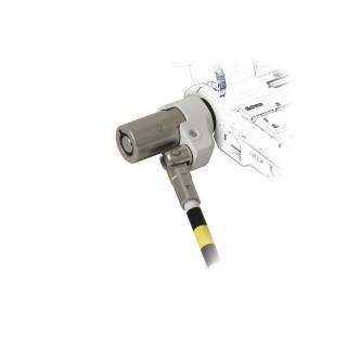 Câble de sécurité pivotant avec verrou à clé rotatif, pour encoche Noble Wedge