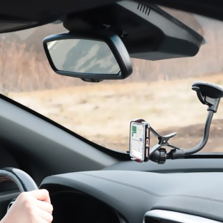 Universal car navigation kit for smartphone