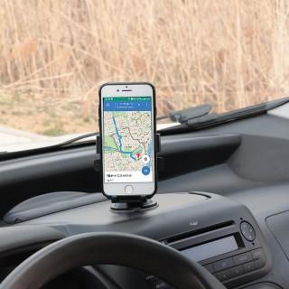 support smartphone automatique avec ventouse pour pare-brise et tableau de bord