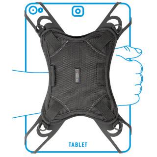 Patte de saisie universelle avec bandoulière et porte-stylets pour tablette