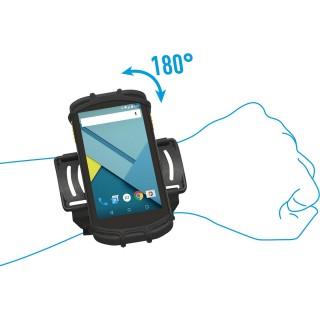 Brassard poignet/bras universel pour smartphone et terminal de saisie