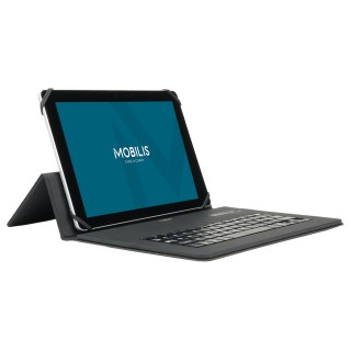 Coque de protection folio Origine universelle pour tablette avec clavier bluetooth français