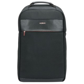 sac à dos pour pc portable argenté et noir élégant