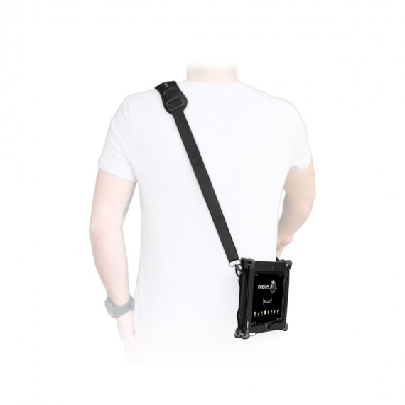 Secured transport shoulder strap