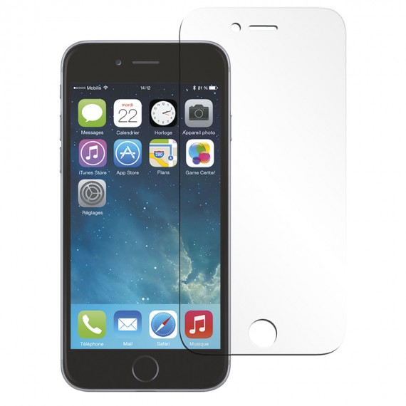 Screen protector tempered glass clear finishing for iPhone 6/6S/7