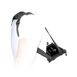 Transport and typing shoulder strap Easy 4 attachment points