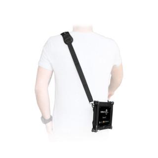 Secured transport shoulder strap