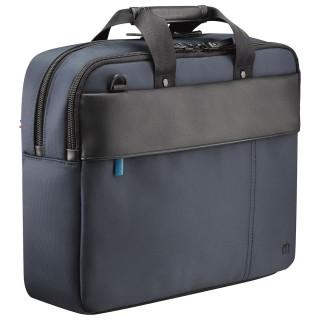 Executive toploading briefcase