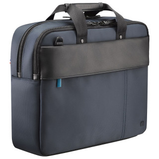 Executive toploading briefcase