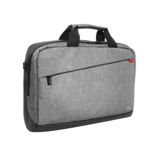 Trendy toploading briefcase Grey