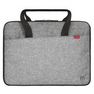 Trendy compact briefcase Grey