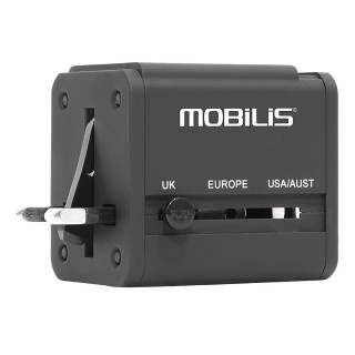 Worldwide travel adaptor -  Compatible 155 countries