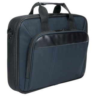 Executive clamshell briefcase