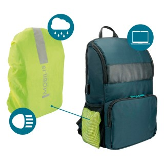 "Executive backpack UP 14-15.6"" with raincover"