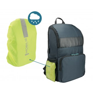 """Executive backpack UP 14-15.6"""" with raincover"""