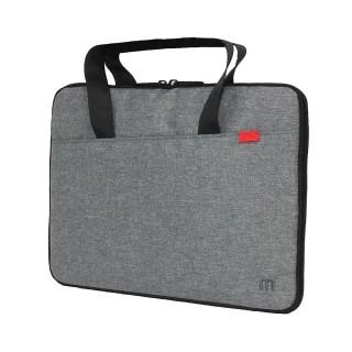 Trendy compact briefcase Grey