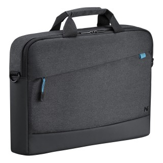 Trendy toploading briefcase Black