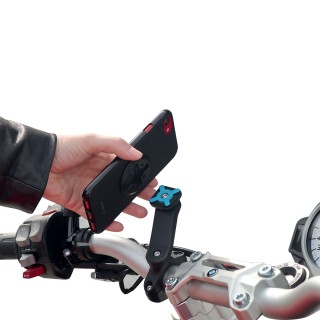 smartphone handlebar mount for motorbike
