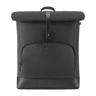 "Pluriel Rolltop backpack 14-16"" with front pocket"