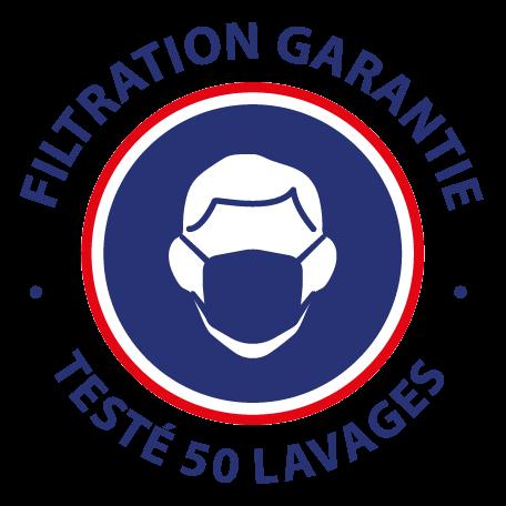 logo filtration garantie 50 lavages
